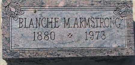 ARMSTRONG, BLANCHE M. - Dixon County, Nebraska | BLANCHE M. ARMSTRONG - Nebraska Gravestone Photos