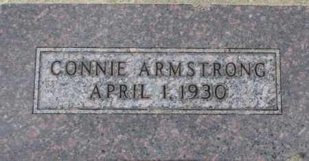ARMSTRONG, CONNIE - Dixon County, Nebraska | CONNIE ARMSTRONG - Nebraska Gravestone Photos