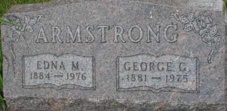 ARMSTRONG, GEORGE G. - Dixon County, Nebraska   GEORGE G. ARMSTRONG - Nebraska Gravestone Photos