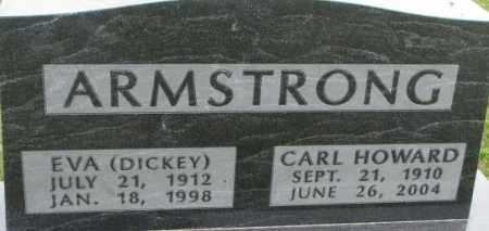 ARMSTRONG, CARL HOWARD - Dixon County, Nebraska | CARL HOWARD ARMSTRONG - Nebraska Gravestone Photos