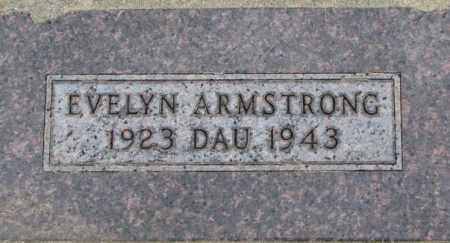 ARMSTRONG, EVELYN - Dixon County, Nebraska | EVELYN ARMSTRONG - Nebraska Gravestone Photos