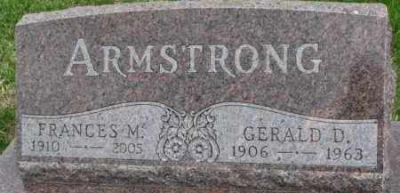 ARMSTRONG, FRANCES M. - Dixon County, Nebraska | FRANCES M. ARMSTRONG - Nebraska Gravestone Photos