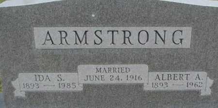 ARMSTRONG, IDA S. - Dixon County, Nebraska | IDA S. ARMSTRONG - Nebraska Gravestone Photos