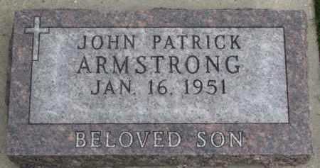 ARMSTRONG, JOHN PATRICK - Dixon County, Nebraska   JOHN PATRICK ARMSTRONG - Nebraska Gravestone Photos