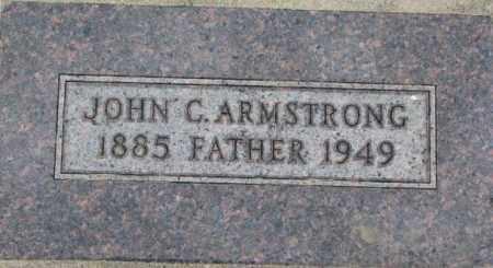 ARMSTRONG, JOHN C. - Dixon County, Nebraska | JOHN C. ARMSTRONG - Nebraska Gravestone Photos