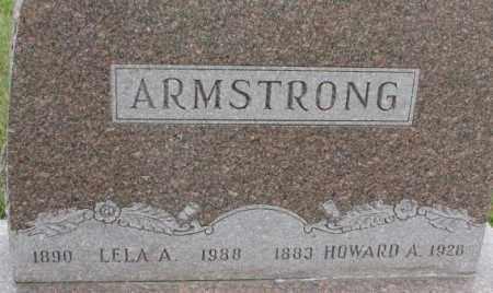 ARMSTRONG, LELA A. - Dixon County, Nebraska | LELA A. ARMSTRONG - Nebraska Gravestone Photos