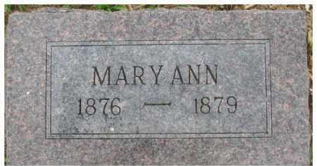 ARMSTRONG, MARY ANN - Dixon County, Nebraska   MARY ANN ARMSTRONG - Nebraska Gravestone Photos