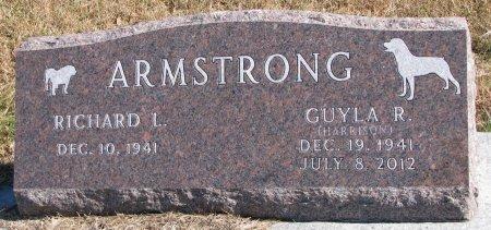 ARMSTRONG, RICHARD L. - Dixon County, Nebraska | RICHARD L. ARMSTRONG - Nebraska Gravestone Photos