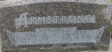 ARMSTRONG, ROSS D. - Dixon County, Nebraska | ROSS D. ARMSTRONG - Nebraska Gravestone Photos