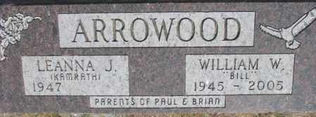 ARROWOOD, LEANNA J. - Dixon County, Nebraska | LEANNA J. ARROWOOD - Nebraska Gravestone Photos