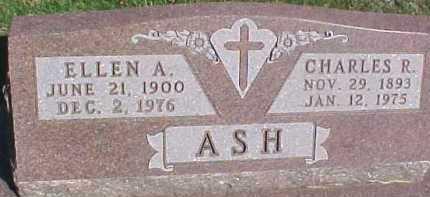 LUNDDAHL ASH, ELLEN A. - Dixon County, Nebraska | ELLEN A. LUNDDAHL ASH - Nebraska Gravestone Photos