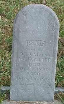 ASHENFELTER, ISAAC - Dixon County, Nebraska | ISAAC ASHENFELTER - Nebraska Gravestone Photos