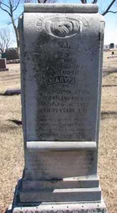 ATKIN, JOHN - Dixon County, Nebraska | JOHN ATKIN - Nebraska Gravestone Photos