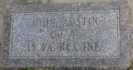 AUSTIN, JOHN - Dixon County, Nebraska   JOHN AUSTIN - Nebraska Gravestone Photos