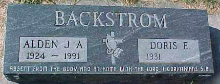 BACKSTROM, DORIS E - Dixon County, Nebraska   DORIS E BACKSTROM - Nebraska Gravestone Photos