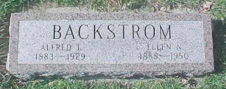 BACKSTROM, ELLEN N - Dixon County, Nebraska   ELLEN N BACKSTROM - Nebraska Gravestone Photos
