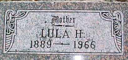 BACKSTROM, LULA HAZEL - Dixon County, Nebraska | LULA HAZEL BACKSTROM - Nebraska Gravestone Photos