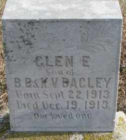 BAGLEY, GLEN E. - Dixon County, Nebraska | GLEN E. BAGLEY - Nebraska Gravestone Photos