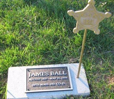 BALL, JAMES - Dixon County, Nebraska   JAMES BALL - Nebraska Gravestone Photos