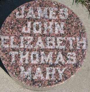 BANNAN, ELIZABETH - Dixon County, Nebraska | ELIZABETH BANNAN - Nebraska Gravestone Photos