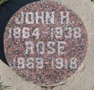 BANNAN, JOHN H. - Dixon County, Nebraska | JOHN H. BANNAN - Nebraska Gravestone Photos