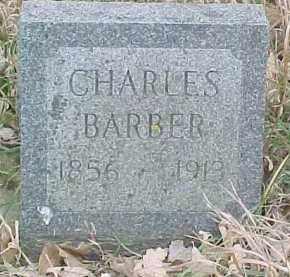 BARBER, CHARLES - Dixon County, Nebraska | CHARLES BARBER - Nebraska Gravestone Photos
