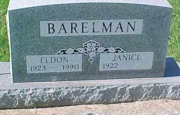 BARELMAN, ELDON - Dixon County, Nebraska | ELDON BARELMAN - Nebraska Gravestone Photos