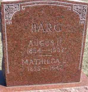 BARG, AUGUS H. - Dixon County, Nebraska | AUGUS H. BARG - Nebraska Gravestone Photos