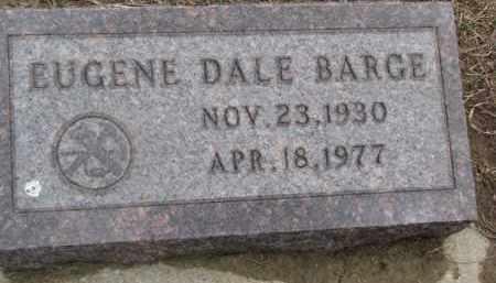 BARGE, EUGENE DALE - Dixon County, Nebraska | EUGENE DALE BARGE - Nebraska Gravestone Photos