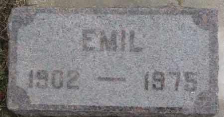 BARGE, EMIL - Dixon County, Nebraska | EMIL BARGE - Nebraska Gravestone Photos