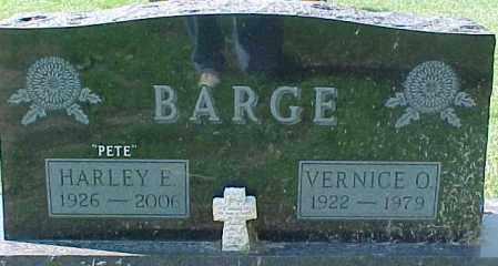 "BARGE, HARLEY E. ""PETE"" - Dixon County, Nebraska | HARLEY E. ""PETE"" BARGE - Nebraska Gravestone Photos"