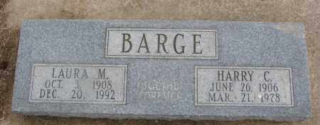 BARGE, LAURA M. - Dixon County, Nebraska | LAURA M. BARGE - Nebraska Gravestone Photos
