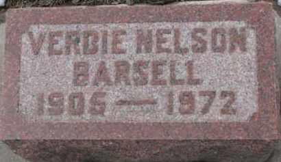 BARSELL, VERBIE - Dixon County, Nebraska   VERBIE BARSELL - Nebraska Gravestone Photos