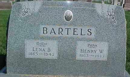 BARTELS, LENA B. - Dixon County, Nebraska | LENA B. BARTELS - Nebraska Gravestone Photos