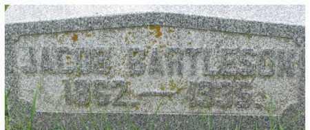 BARTLESON, JACOB - Dixon County, Nebraska   JACOB BARTLESON - Nebraska Gravestone Photos