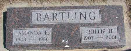 BARTLING, AMANDA E. - Dixon County, Nebraska | AMANDA E. BARTLING - Nebraska Gravestone Photos