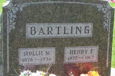 BARTLING, MOLLIE M. - Dixon County, Nebraska | MOLLIE M. BARTLING - Nebraska Gravestone Photos
