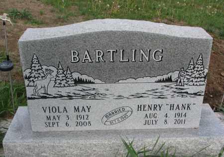 "BARTLING, HENRY ""HANK"" - Dixon County, Nebraska | HENRY ""HANK"" BARTLING - Nebraska Gravestone Photos"