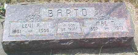 MONTGOMERY BARTO, MAY M - Dixon County, Nebraska | MAY M MONTGOMERY BARTO - Nebraska Gravestone Photos