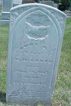 TRUMAN BARTO, LUCY A - Dixon County, Nebraska | LUCY A TRUMAN BARTO - Nebraska Gravestone Photos