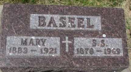 BASEEL, S.S. - Dixon County, Nebraska | S.S. BASEEL - Nebraska Gravestone Photos
