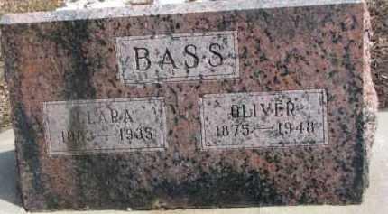 BASS, OLIVER - Dixon County, Nebraska | OLIVER BASS - Nebraska Gravestone Photos