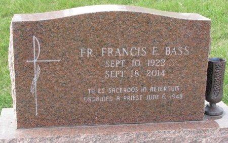 BASS, FRANCIS E. (FR.) - Dixon County, Nebraska | FRANCIS E. (FR.) BASS - Nebraska Gravestone Photos