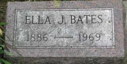 BATES, ELLA J. - Dixon County, Nebraska | ELLA J. BATES - Nebraska Gravestone Photos