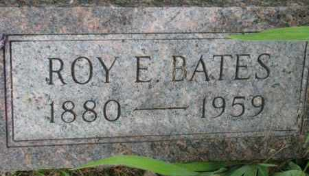 BATES, ROY E. - Dixon County, Nebraska | ROY E. BATES - Nebraska Gravestone Photos