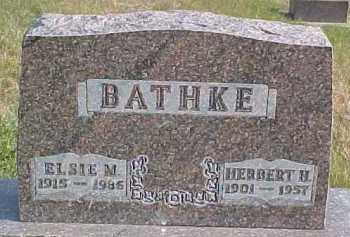BATHKE, HERBERT H. - Dixon County, Nebraska | HERBERT H. BATHKE - Nebraska Gravestone Photos
