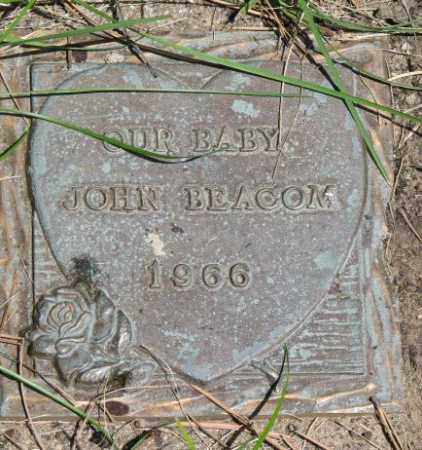 BEACOM, JOHN - Dixon County, Nebraska | JOHN BEACOM - Nebraska Gravestone Photos