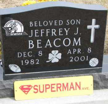 BEACOM, JEFFREY J. - Dixon County, Nebraska | JEFFREY J. BEACOM - Nebraska Gravestone Photos