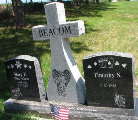 BEACOM, MARY F. - Dixon County, Nebraska   MARY F. BEACOM - Nebraska Gravestone Photos