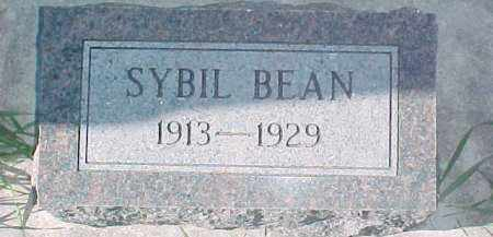 BEAN, SYBIL - Dixon County, Nebraska   SYBIL BEAN - Nebraska Gravestone Photos
